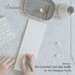 The Essentials Your Side Hustle or New Business Needs