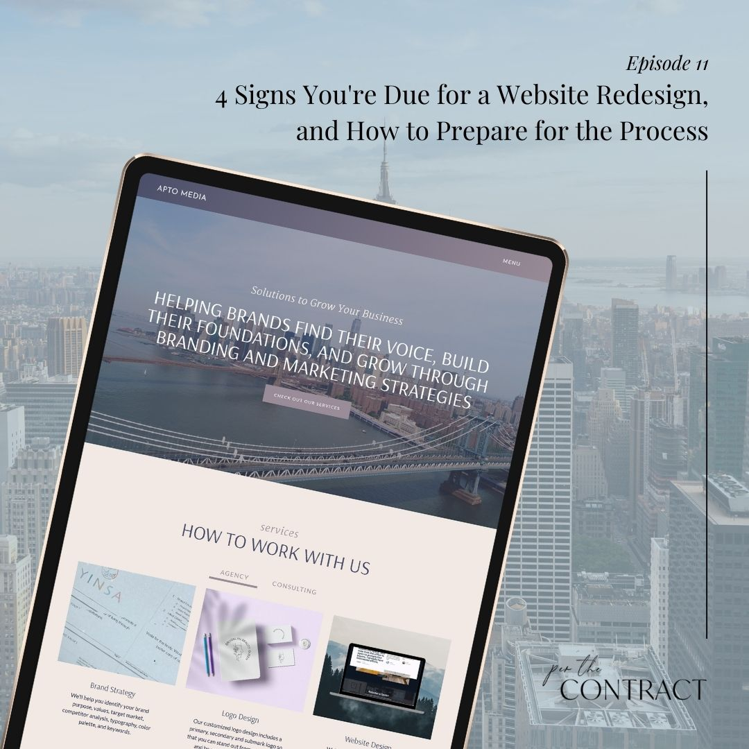 4 Signs You're Due for a Website Redesign, and How to Prepare for the Process