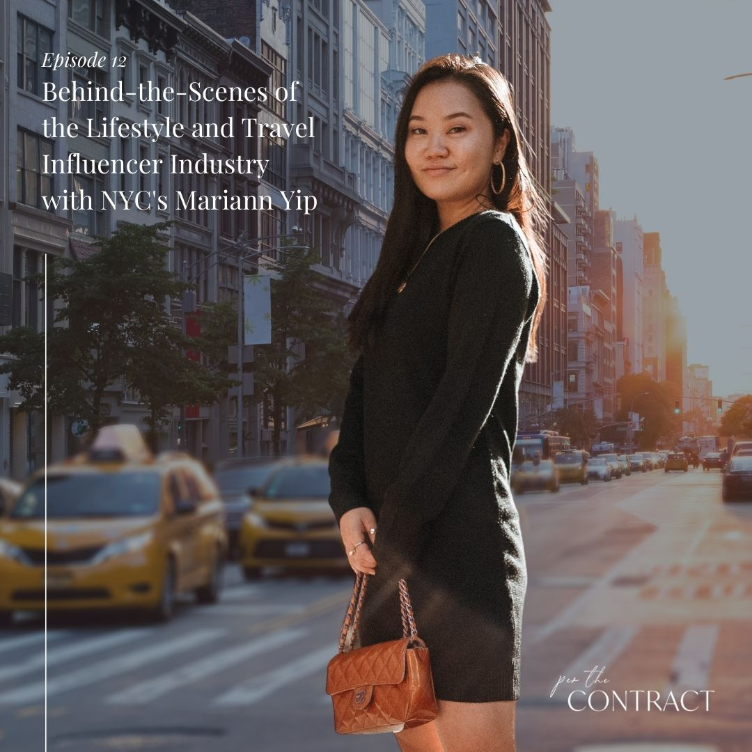 Behind-the-Scenes of the Lifestyle and Travel Influencer Industry with NYC's Mariann Yip